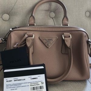 Prada Saffiano Lux Mini Bag